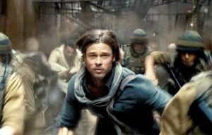 Brad Pitt sauve le monde tout en étant parfaitement bien coiffé ...