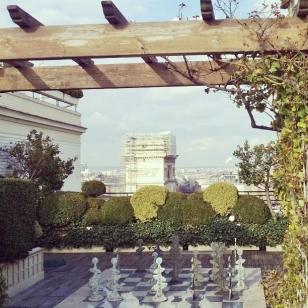 Vue de l'Hôtel Raphaël !