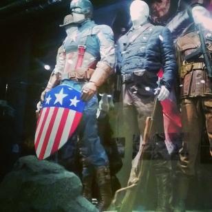 Reconstitution de l'expo Captain America, qu'on voit dans le film éponyme !